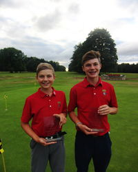 Futures Tour North Oxford U14 & U15 Winners